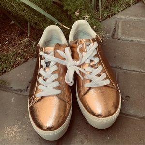ASH CULT Platform Rose Gold Platform Sneaker